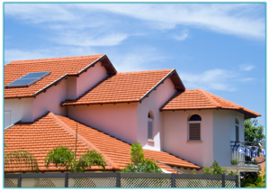 Clay Tile Roof - House Image